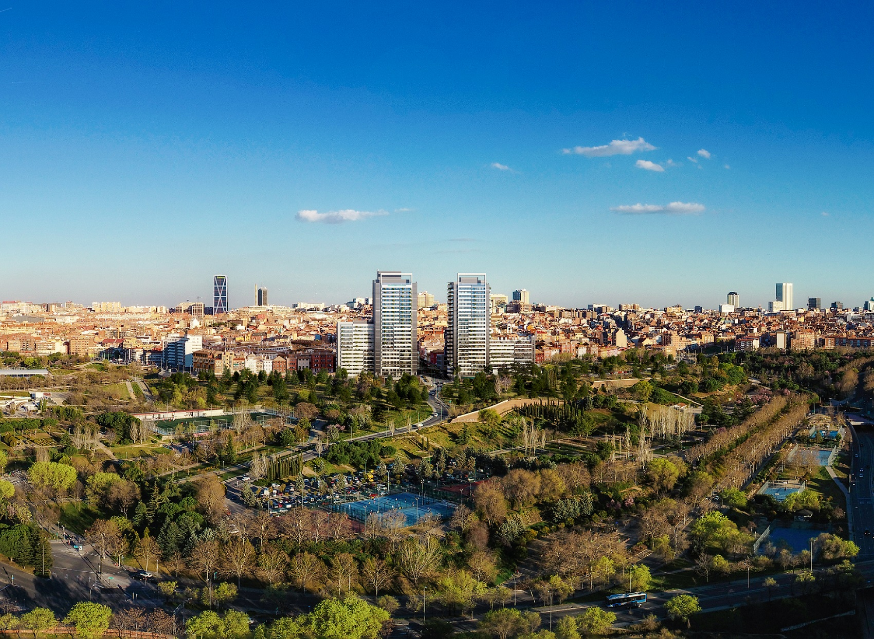 Skyline Madrid