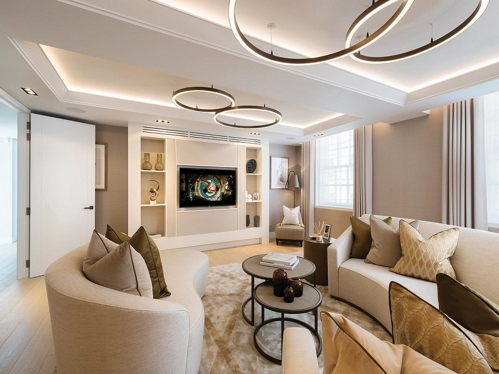 Stunning luxury interior design apartment in Mayfair, London