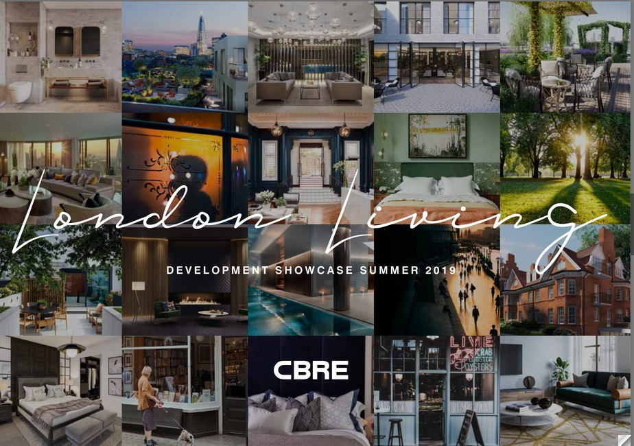 CBRE latest London Living development Showcase
