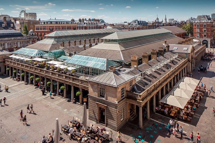 The history of Covent Garden