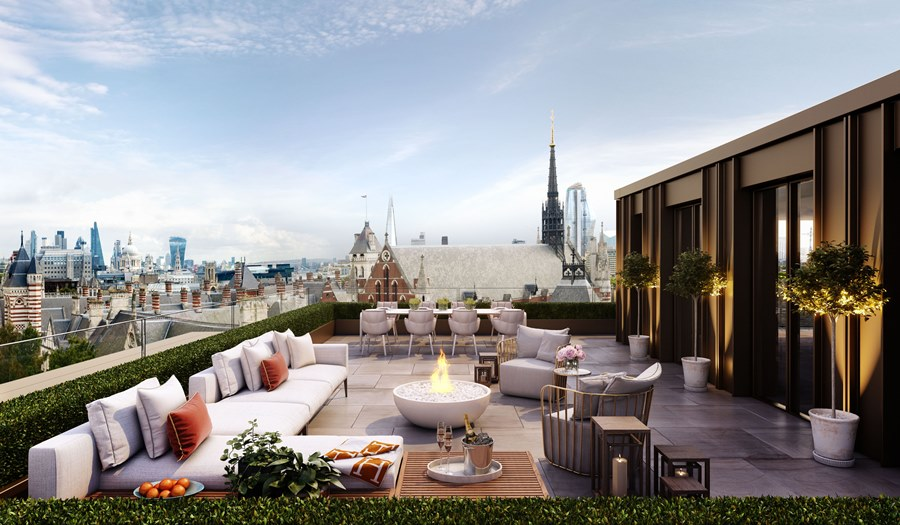 Lincoln Square Roof Terrace
