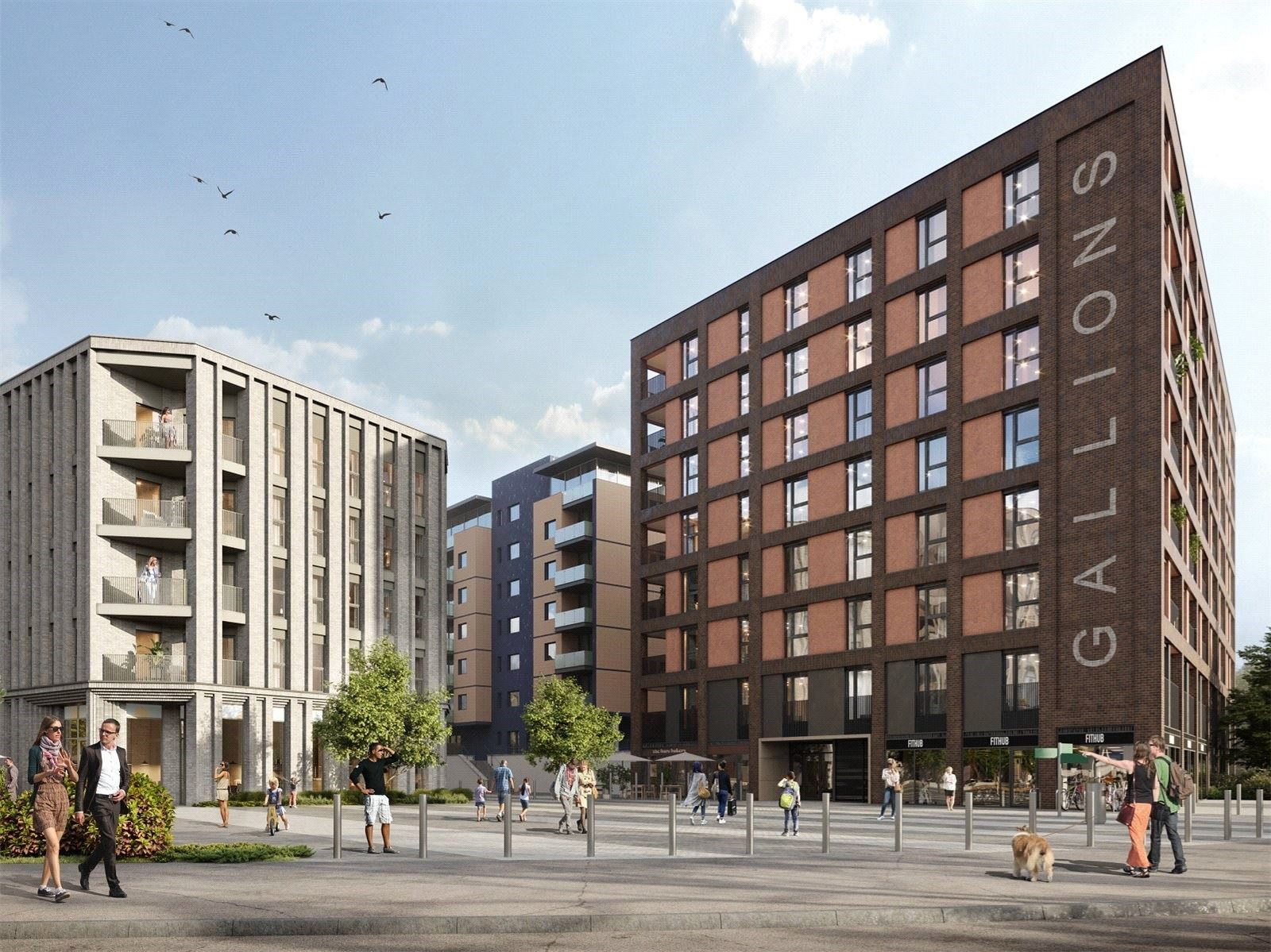 Gallions Place, Royal Albert Wharf E16 | Help to Buy | CBRE Residential