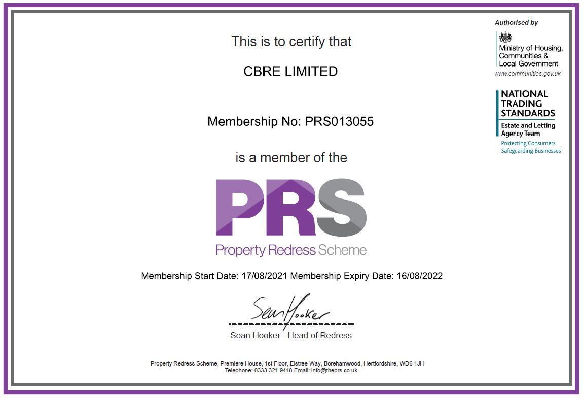 Lettings agents | CBRE Residential