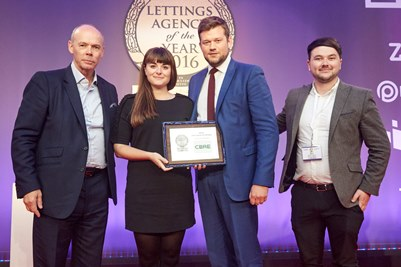 Sunday Times Lettings Agency of the Year Awards 16 Prestige Silver