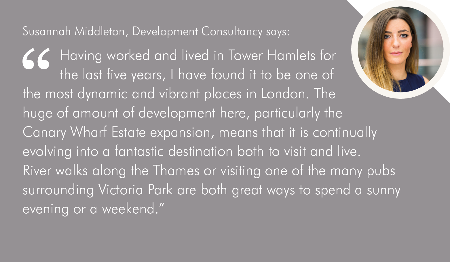 Tower Hamlets quote