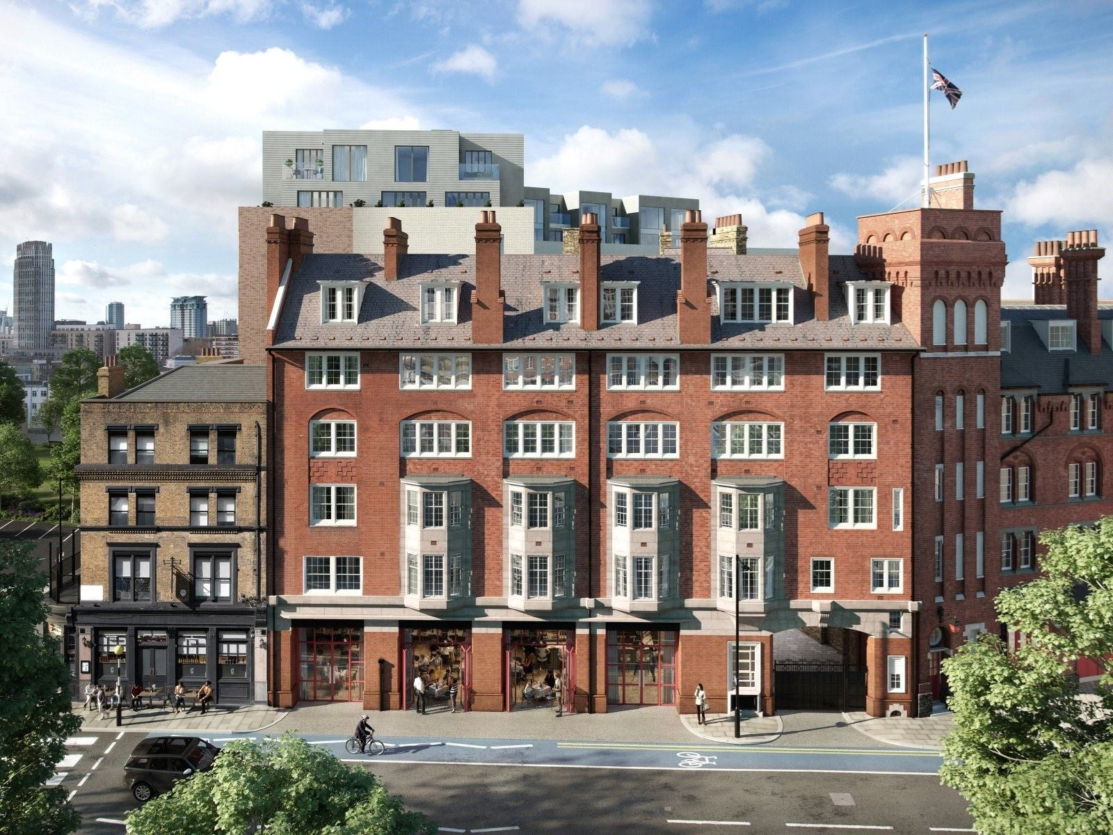 London Architecture: Modern homes available to buy in historic buildings | CBRE Residential