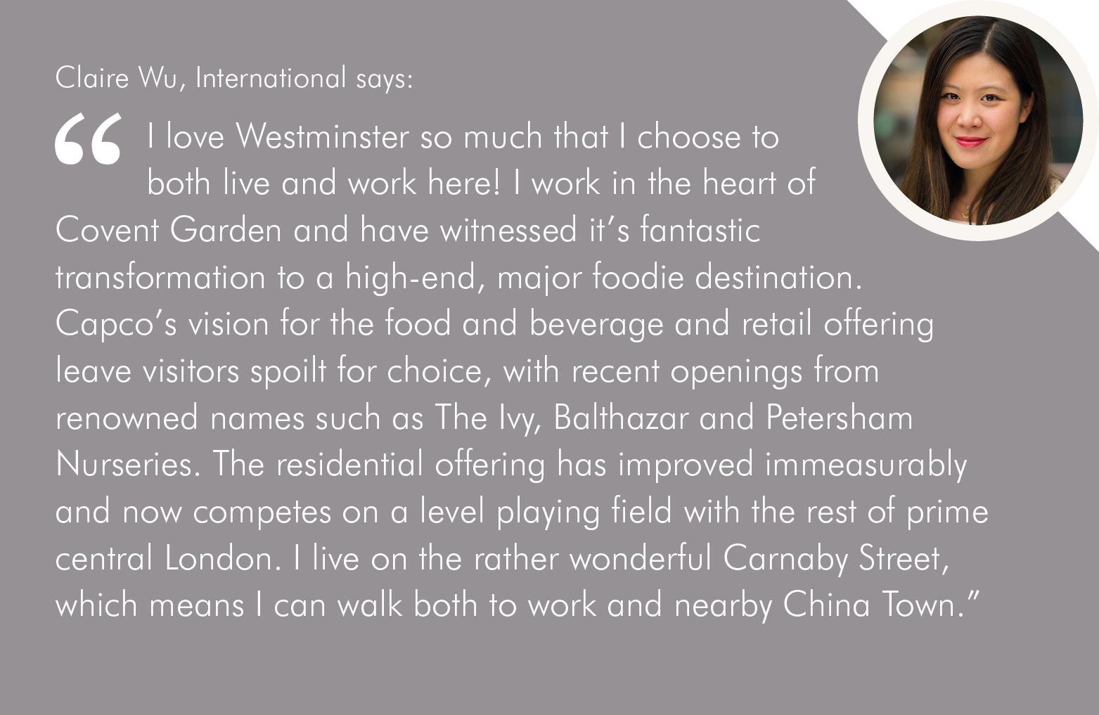 Westminster quote