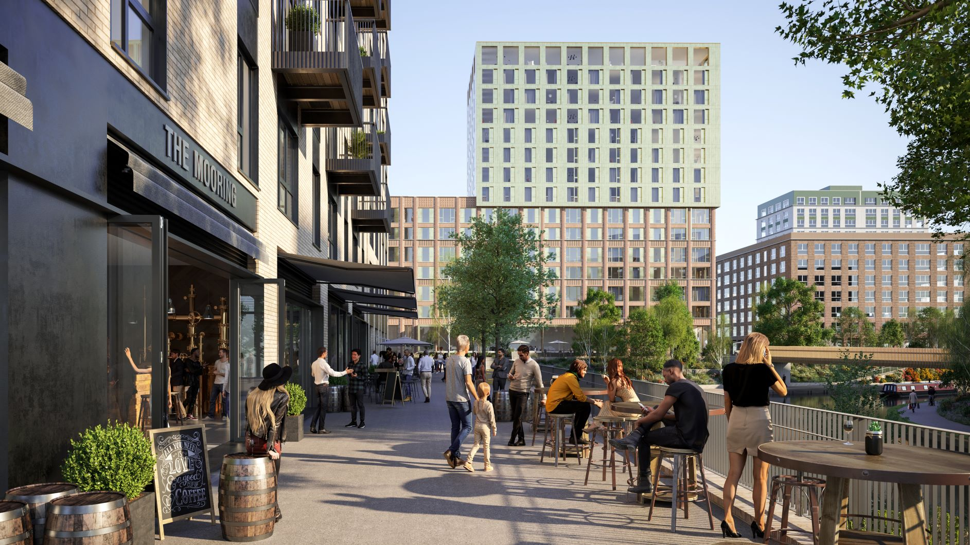The Lock, Greenford Quay | Help to Buy scheme| CBRE Residential