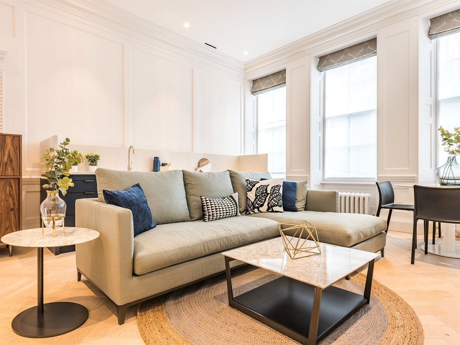 Stunning Living Room in London Apartment to Rent