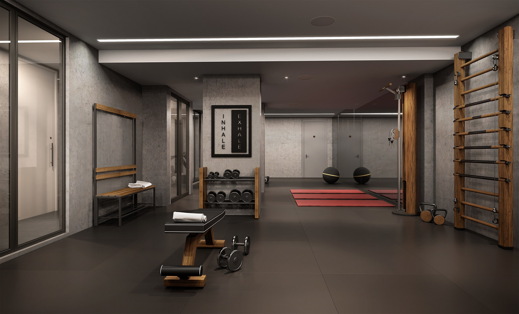 Gym in Chapter House