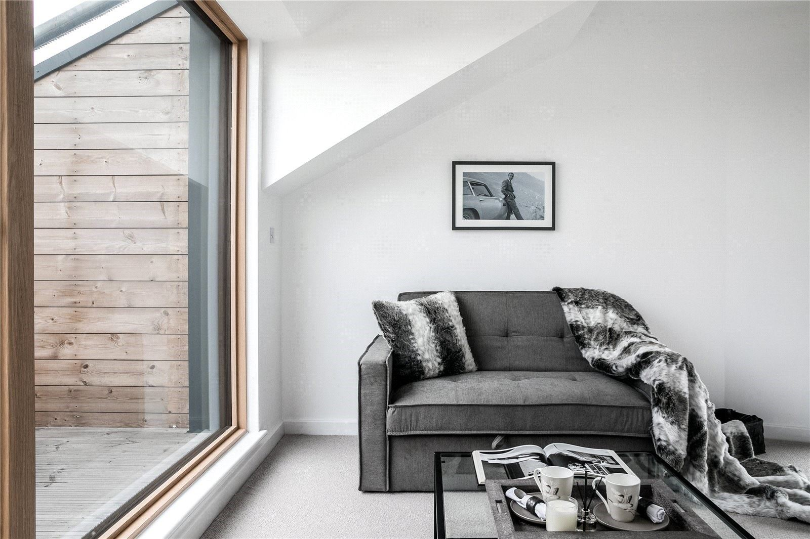 Restrained, often monochromatic colour palettes are at the core of Scandi style.