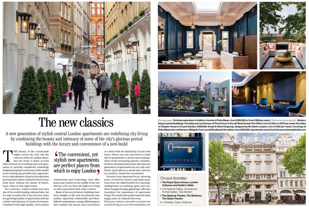 Country Life the new classics article CBRE